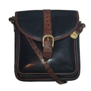 Vintage Brahmin Leather Crossbody
